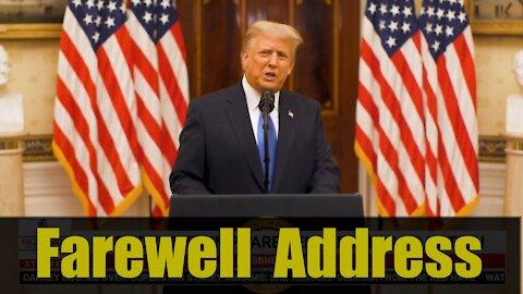 WATCH: Donald J. Trump Farewell Address Speech