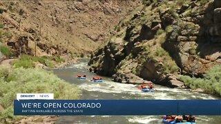Rafting season is underway in Colorado