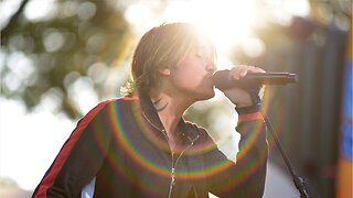 Keith Urban Performs At Drive-In Theater