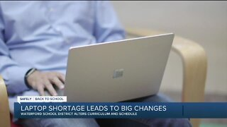 State helping some schools hit by national laptop shortage