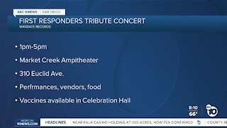 First Rsponders tribute concert