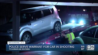 Mesa police serve search warrant in Phoenix in relation to deadly shooting