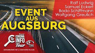 Augsburg - Landtagsabgeordneter spricht