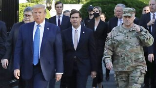 Top Military Official Apologizes For Participation In Photo Op
