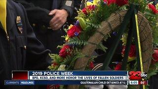 Law enforcement honoring fallen officers during Police Week
