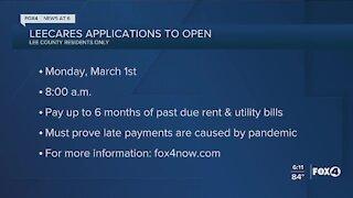 LeeCares opens applications next week