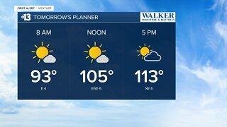 13 First Alert Las Vegas evening forecast | August 16, 2020