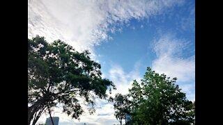 Beautiful sky in Quang Ninh Vietnam