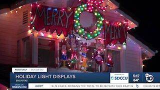 Encinitas neighborhood keeps holiday spirit alive with light displays