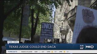 Texas judge could end DACA