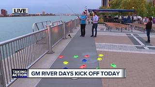 GM River Days festival in downtown Detroit