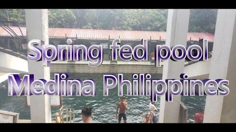 Alibuag spring pool, Medina Philippines