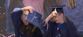 Surprise graduation for Las Vegas 8th graders