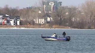 Fox River ice opens up sparking an early start to Walleye fishing