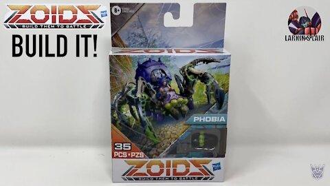 Build It! Hasbro ZOIDS Mega Battlers Phobia - Spider-Type, Larkin's Lair