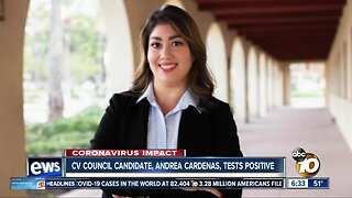 Chula Vista council candidate says she tested positive for coronavirus