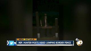 Duncan Hunter defends video showing him jumping over border fence