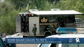 Tucson police investigate possible suspicious item at east side Fry's