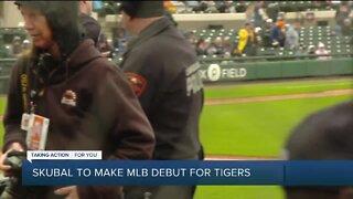 Tarik Skubal talks big-league call-up with Tigers
