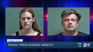2 face murder charges in Beggs triple homicide shooting