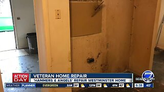 """""""Hammers and Angels"""" repair Westminster home"""