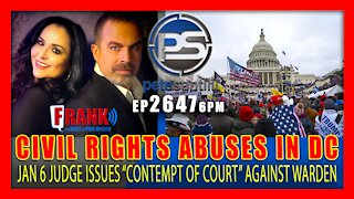 EP 2647-6PM JAN 6 PRISONER CIVIL RIGHTS ABUSES: Judge holds DC jail officials in contempt