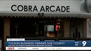 Tucson business owners file lawsuit against county's mandatory curfew