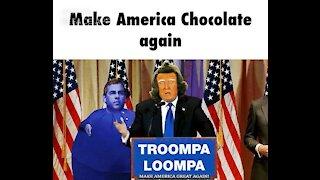 Donald Trump Willy Wonka Style