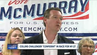 """Collins challenger McMurray """"confident"""" after charges against Congressman"""