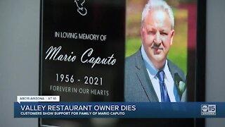 Valley restaurant owner dies
