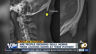 Cell phones giving people horns?