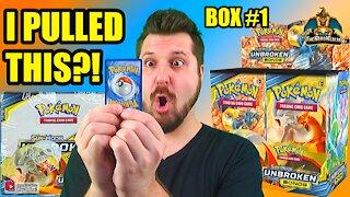 Pokemon Unbroken Bonds Booster Case Opening (Box 1) (Charizard Hunting)