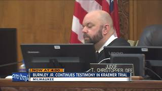 Man shot by police continues testimony in Kramer trial