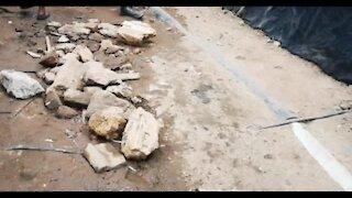 SOUTH AFRICA - Johannesburg - Alexandra township fire left hundreds homeless (Video) (xz7)