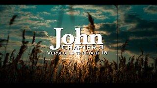 Bible Verses - John 3:14-18