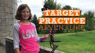 S1:E16 A Kids Outdoors Archery Target Practice Adventure | Kids Outdoors