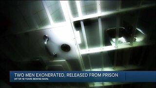 Two men exonerated, released from prison