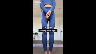 Toned Slim Leg Workout