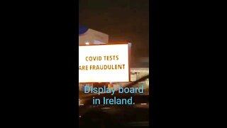 Display Board in Ireland.