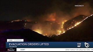 Creek Fire evacuation orders lifted
