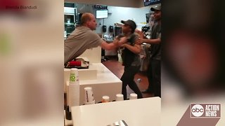 Man arrested for attacking McDonald's employee