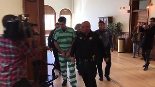 Patrick Frazee makes court appearance for motions hearing