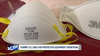 Summit County EMA makes plea for personal protective equipment donations