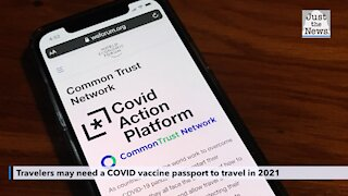 Travelers may need a COVID vaccine passport to travel in 2021