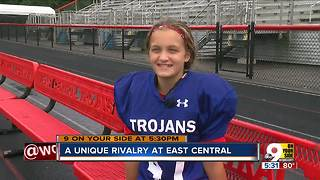 A unique rivalry at East Central High School