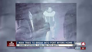 Man Tries to Break into Fort Myers Home
