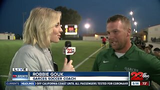 Live interview with Garces Coach Robbie Gouk during SoCal Regional Semifinal