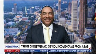 Trump on Newsmax: Obvious Covid Came from a Lab