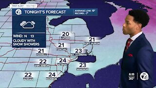 More snow showers in the forecast