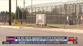 Central Valley Correctional Facility to lay off 130 employees